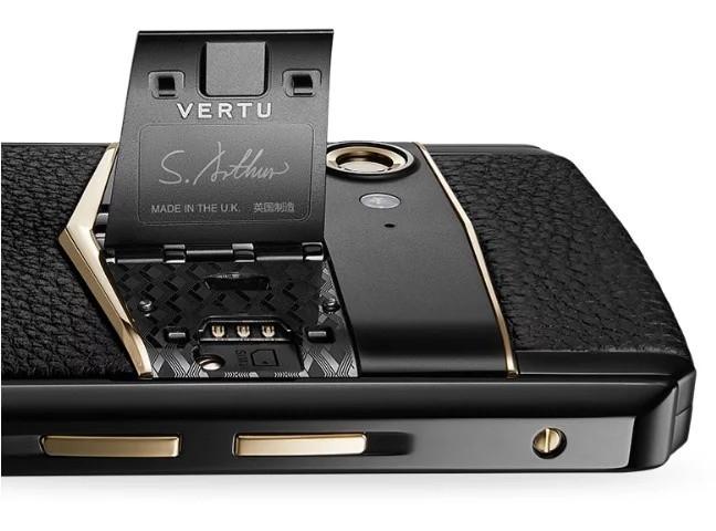 開價破 4 萬!Vertu 回歸 Aster P 寫住「英国制造」