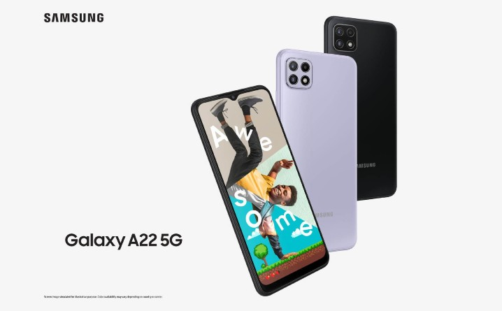 三星最廉價 5G 手機:Galaxy A22 5G 發表