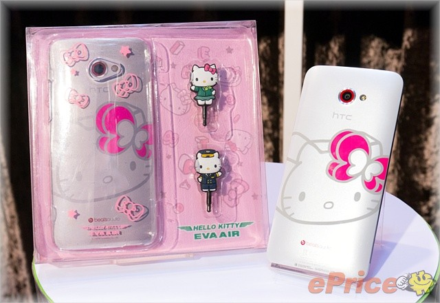 HTC Butterfly s Hello Kitty 介紹圖片