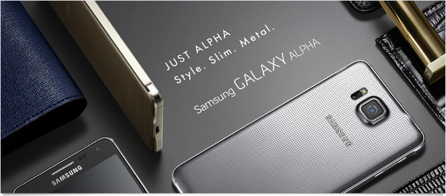 Samsung Galaxy Alpha 介紹圖片