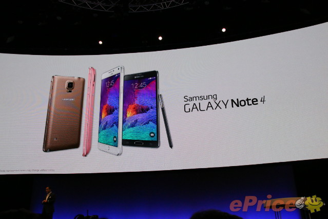 Samsung Galaxy Note 4 介紹圖片