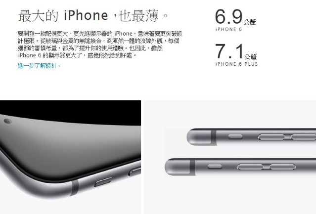Apple iPhone 6 64GB 介紹圖片