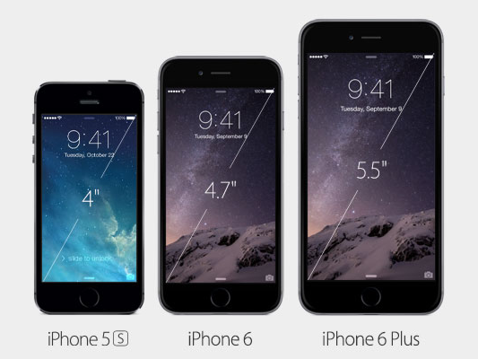iPhone 6 與 iPhone 6 Plus 正式發布! - 2