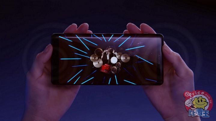 Xperia XZ3擁有來自Sony 集團創新技術,涵蓋電視科技、影像、音效、遊戲等創新科技,再次挑戰手機沉浸式娛樂體驗!(1).jpg