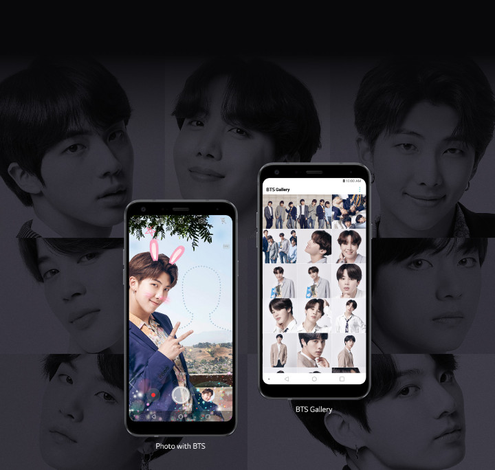 LG Q7+ BTS Edition 介紹圖片