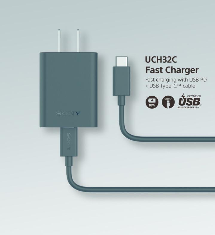 支援 18W 輸出,Sony Mobile PD 快充組 UCH32C 預計 1/16 開賣