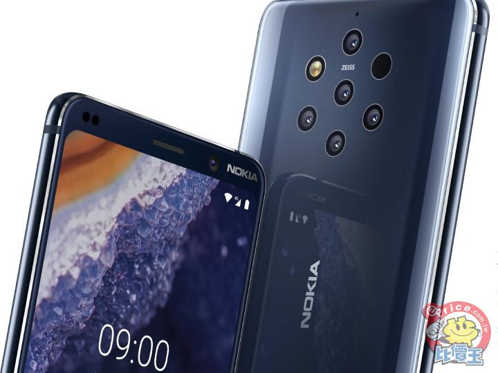 Nokia 9.3 PureView 傳將有 120Hz 螢幕、變焦五鏡頭