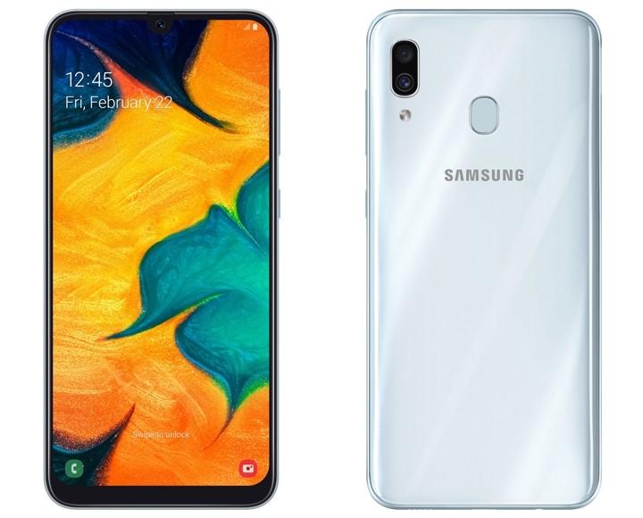 Samsung Galaxy A30 介紹圖片