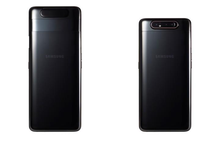 三星 Galaxy A80 正式揭曉:搭 48MP 可翻轉三鏡頭相機,配 6.7 吋無開孔全螢幕