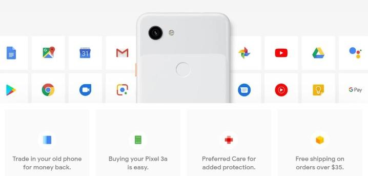 Google Pixel 3a 介紹圖片