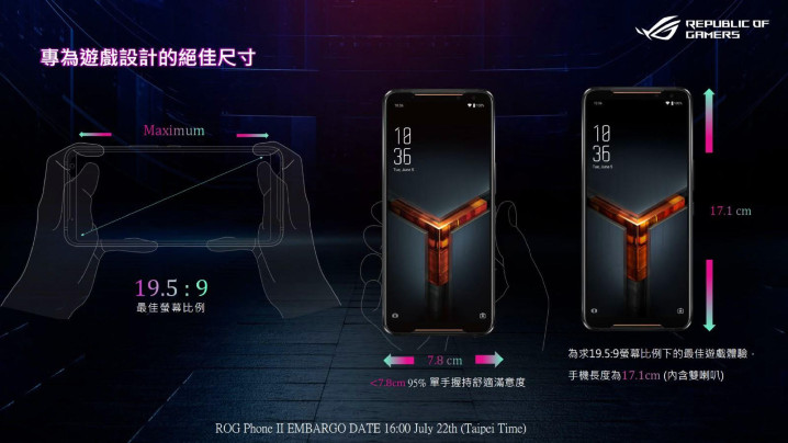 ASUS ROG Phone 2 12GB/512GB 介紹圖片