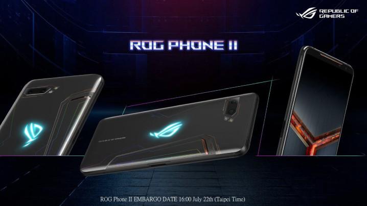 搭 S855+ 處理器,華碩發表 ROG Phone II (ROG Phone 2),八月中上市