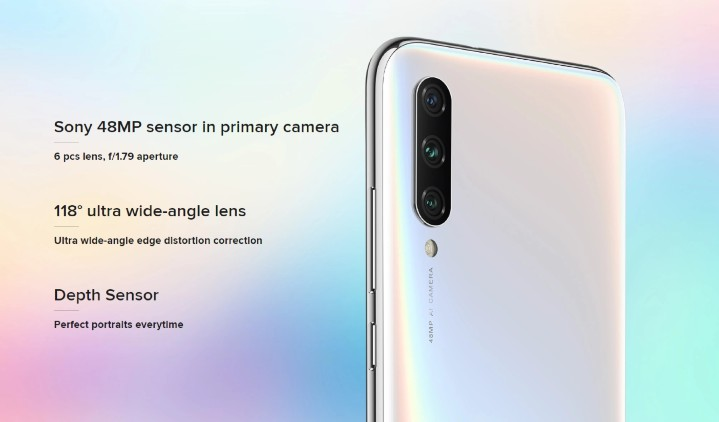 Xiaomi A3 (4GB/128GB) 介紹圖片
