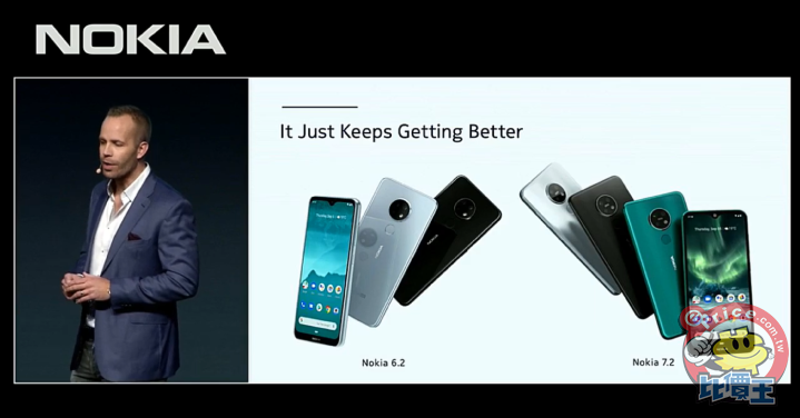 IFA 2019:HMD Global 發表 Nokia 7.2、Nokia 6.2 二款智慧手機