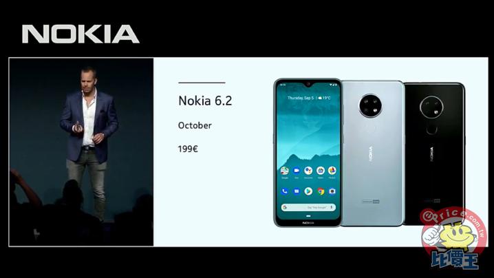 Nokia 6.2 介紹圖片