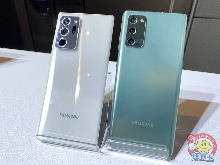 挑機看指標:2020 年 8 月台灣銷售最好的二十款智慧型手機排行