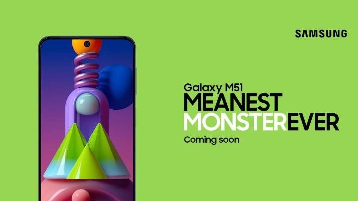 三星 Galaxy M51 發表 內建 7,000mAh 大電池