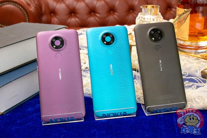 HMD Global 兩款平價手機 Nokia 3.4、Nokia 215 4G 十一月陸續上市