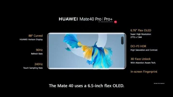 HUAWEI Mate 40 Pro 介紹圖片