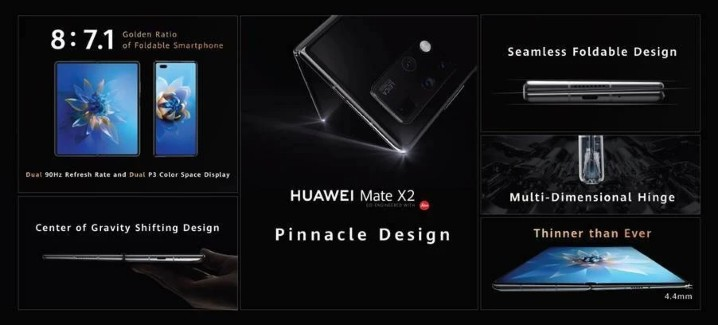 HUAWEI Mate X2 介紹圖片