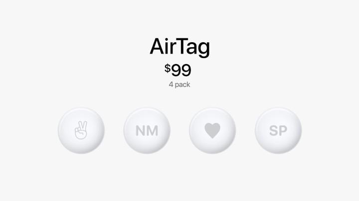 蘋果發表 AirTag 物件防丟追蹤器,加入 UWB 技術 - 12