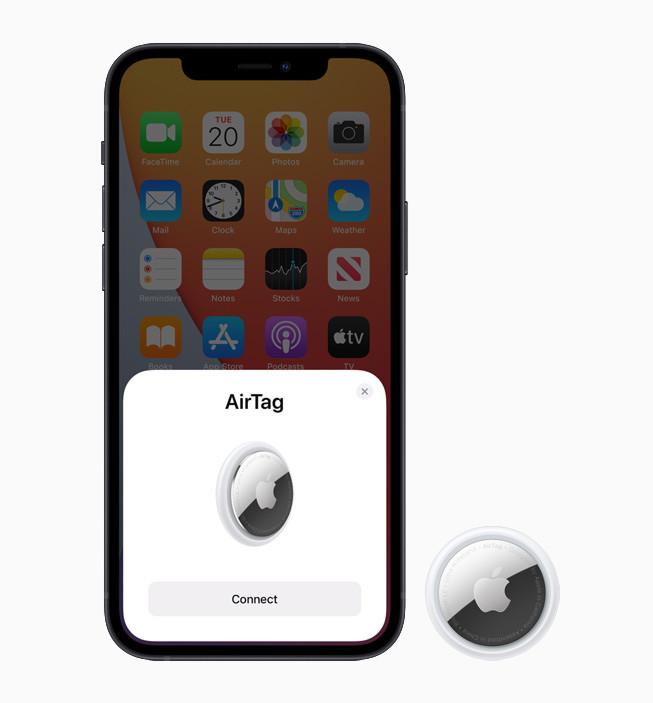 蘋果發表 AirTag 物件防丟追蹤器,加入 UWB 技術 - 7