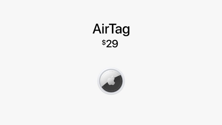 蘋果發表 AirTag 物件防丟追蹤器,加入 UWB 技術 - 11