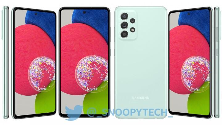 三星 Galaxy A52s 5G 詳細規格售價洩露,處理器升級其他不變