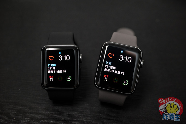 新一代 Apple Watch Series 3 升級開箱分享