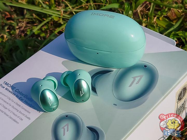 四色多彩外觀 1MORE ColorBuds時尚豆真無線耳機試用