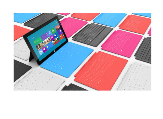 Microsoft Surface for Windows 8 Pro 介紹圖片