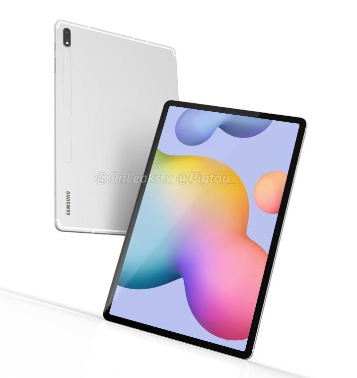 三星Galaxy Tab S7+规格流出S865+、Sub-6 5G、破万电量
